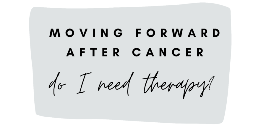 Moving Forward: 18. Do I Need Therapy?